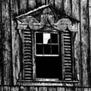 Window Pane Art Print