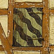 Window Shutter 2 Art Print