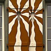 Window Shutter 3 Art Print