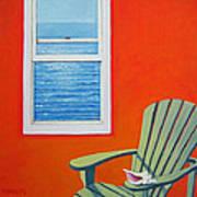 Window To The Sea No. 1 - Seashell Art Print