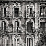 Windows And Balconies 1 Art Print