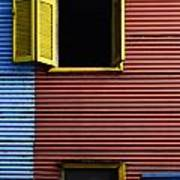 Windows And Doors Buenos Aires 16 Art Print