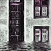 Windows And Doors Art Print