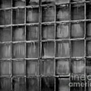 Windows Black And White 2 Art Print