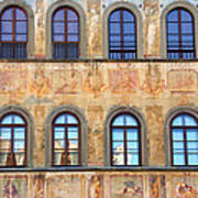 Windows In Florence Art Print
