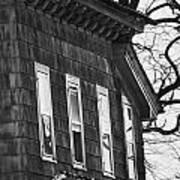 Windows Of The Past Art Print