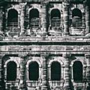 Windows Of The Porta Nigra Art Print