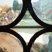 Windows Of Venice View From Art Academy Art Print