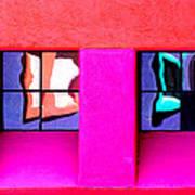 Windows Reflected Art Print
