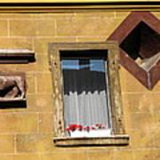 Windows To Budapest Art Print