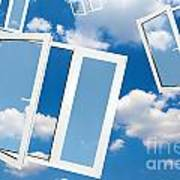 Windows To New World Art Print
