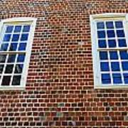 Windows With History Art Print