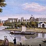 Windsor Castle From Across The Thames Art Print