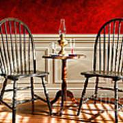 Windsor Chairs Art Print