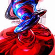 Windstorm Abstract Art Print