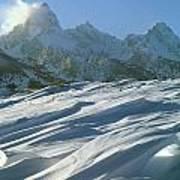 1m9342-windswept Snow Art Print