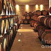 Wine Barrels Art Print by Elena Elisseeva