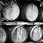 Wine Barrels Art Print by Scott Pellegrin