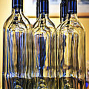 Wine Bottles Art Print by Elena Elisseeva