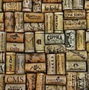 Wine Corks After The Wine Tasting Art Print by Paul Ward