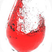 Wine Glass Art Print