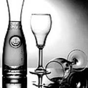 Wine Glasses Art Print
