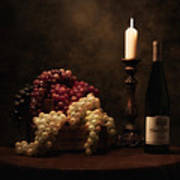 Wine Harvest Still Life Art Print