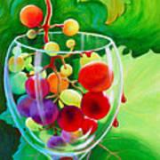 Wine On The Vine IIi Art Print