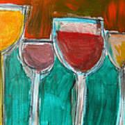 Wine Party 3 Art Print