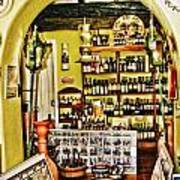 Wine Shop Art Print