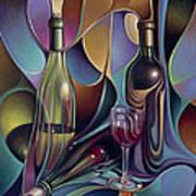 Wine Spirits Art Print