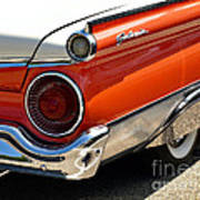Wing And A Skirt - 1959 Ford Art Print