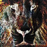 Winged Lion Art Print