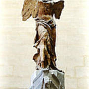 Winged Victory Of Samothrace Art Print by Conor OBrien
