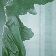 Winged Victory Of Samothrace Statue At The Louvre Museum        Art Print