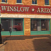 Winslow Arizona Art Print