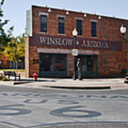 Winslow Arizona - Such A Fine Sight To See Art Print by Christine Till