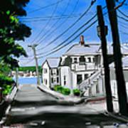 Winslow Street Art Print