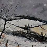 Winter 4531 Art Print