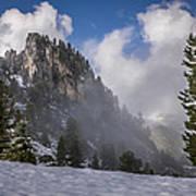 Penken Tyrol Alps Winter Landscape Photography Art Print