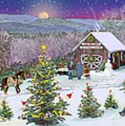 Winter At Campton Farm Art Print