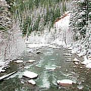 Winter At Mt Hood Art Print