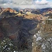 Winter At The Grand Canyon Art Print