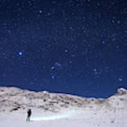 Winter Constellations Art Print