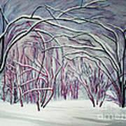 Winter Fairies Art Print