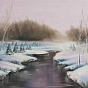 Winter Freeze Art Print