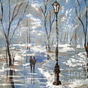 Winter Frost Art Print