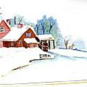 Winter Habitat Art Print