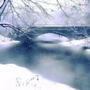 Winter Haiku Art Print