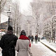 Winter In London Art Print